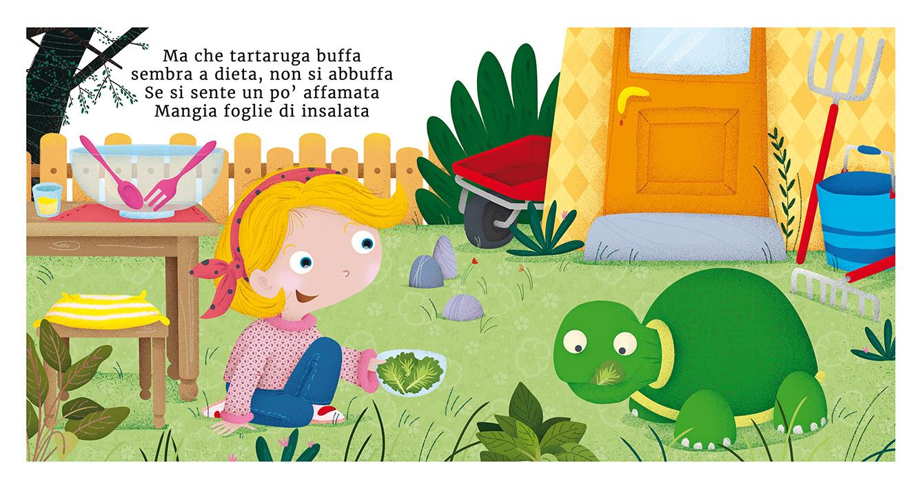 child turtle