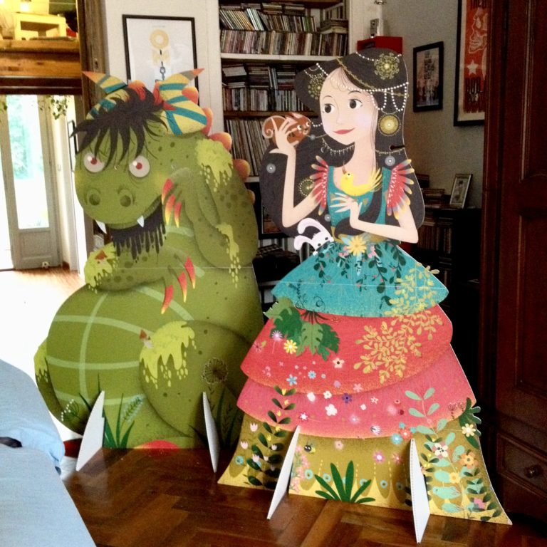 monster and fairy