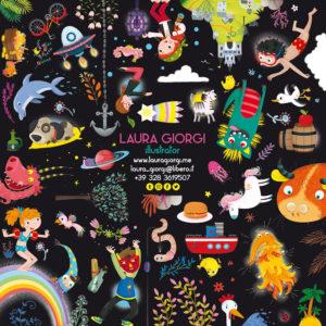 Laura Giorgi illustratrice freelance di libri e giochi per bambini